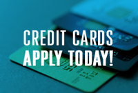 Credit Cards Apply today tile